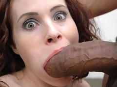 Big black cock gets buried into this milf wet hole