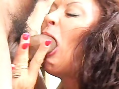 Dirty Nymph Mommy Vanessa Vidal Sucking Huge Cock And Gets Rammed Hard