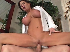MiLF fucks her stud deep and hard